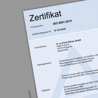 DLP Zertifikate